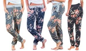 Pantalon de jogging Fleuri Billie