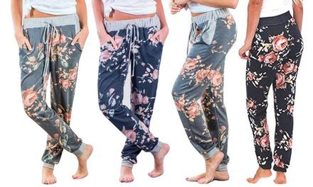 1 ou 2 pantalons de jogging fleuris Billie