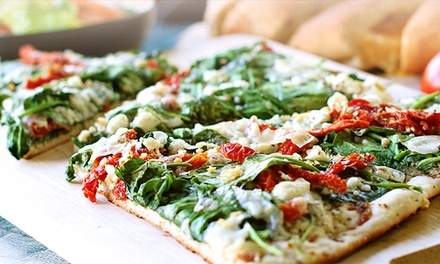 $19.99 for a Pizza, Pasta, or Lasagna Meal from Mama Mimi's Take 'N Bake Pizza ($37.96 Value)