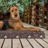 2-in-1 Indoor/Outdoor Deluxe Orthopedic Pet Bed