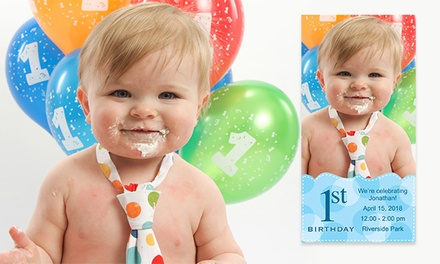 Birthday Photo Card Packages from Picture People (Up to 86% Off). Two Options Available.