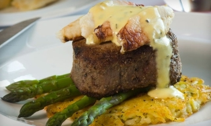 John Howie Steak - Bellevue: $30 for $60 Worth of Steak Dinner and Wine at John Howie Steak. Three Expiration Dates Available.