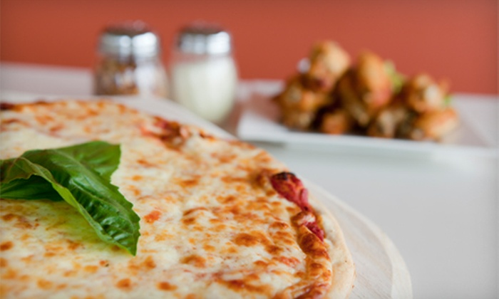 Olive's Pizza - Plano: Pizza, Pasta, Subs, and Salads for Two or Four at Olive's Pizza (Half Off)