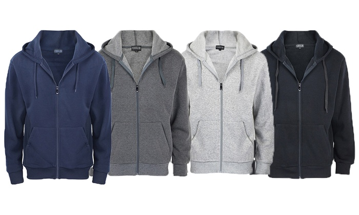 Men's Lightweight Zip-Up Hoodie