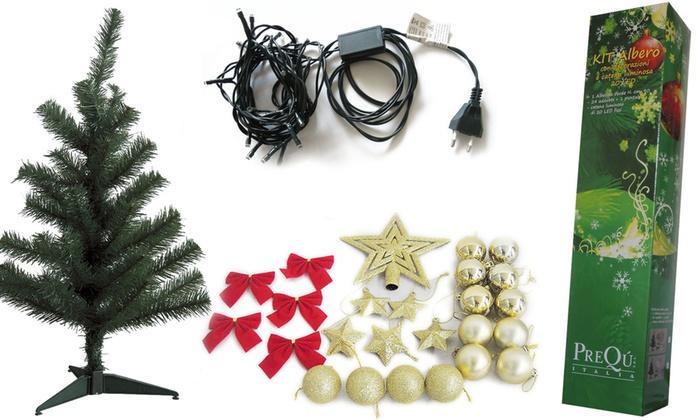 Kit natalizio con albero