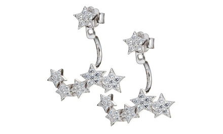 Starry Eyed Earrings with SWAROVSKI ELEMENTS and 925 Sterling Silver for £6.98 (90% Off)