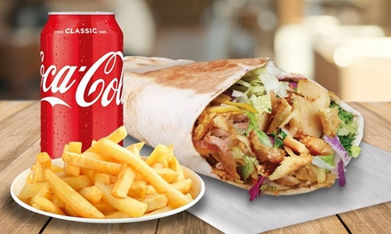 Kebab Combo Meal for One $9.99 or Two People $19.98 at Shiraz Moderna Up to $36 Value