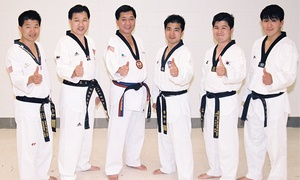 Lee Brothers Tae Kwon Do: Martial-Arts Classes with Uniform for One or Two at Lee Brothers Tae Kwon Do (Up to 95% Off)