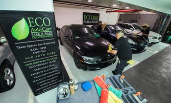 Up to 72% Off Wash and Wax at Eco Auto Care Park and Wash