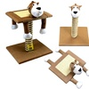 3-in-1 Interactive Cat Scratching Pole