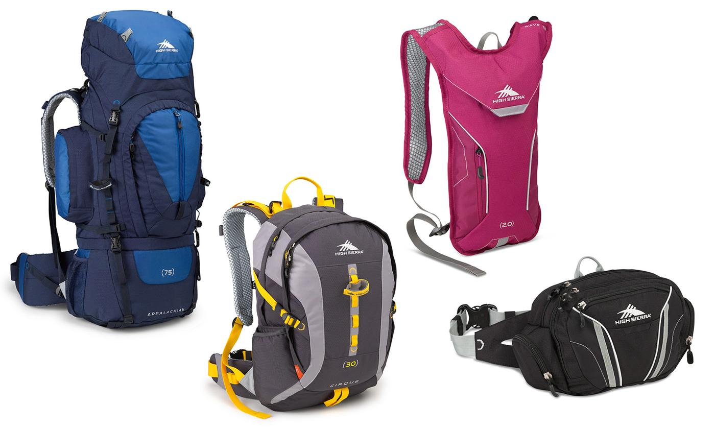 High Sierra Backpacks, Day Packs, and Hydration Packs