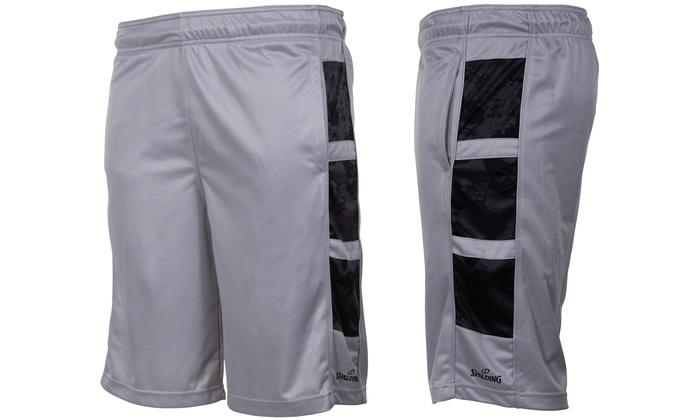 Spalding King Mesh Basketball Shorts w/ Pockets(Size M
