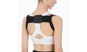 1 ou 2 ceintures de correction de la posture du dos flexibles