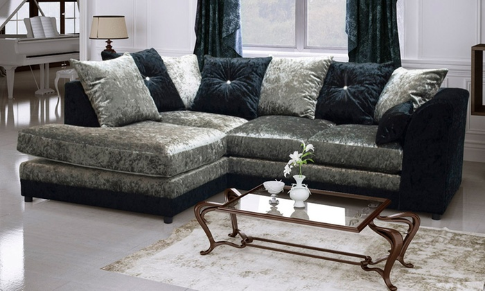 Aurora Velvet Sofa Collection With Free Delivery