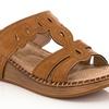 Lady Godiva Comfort Wedge Sandal (Size 11)