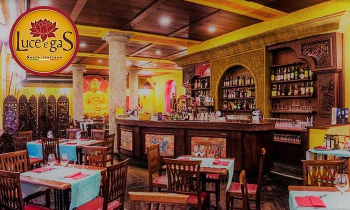 Ristorante Luce e Gas - Torino: Ristorante Luce e Gas: menu pizza, dolce e bibita per 2 persone nel cuore del Quadrilatero Romano di Torino
