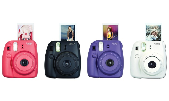 fujifilm instax mini 8 camera groupon goods. Black Bedroom Furniture Sets. Home Design Ideas
