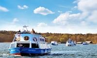 5-Seen-Rundfahrt ab Malchow oder 7-Seen-Fahrt ab WarenMüritz für Zwei mit Blau Weisse Flotte (bis zu 55% sparen*)