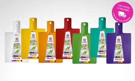 Tablas de corte plegables en color a elección