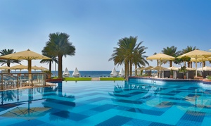 The Bahi Ajman Palace: Three-Course Set Menu with Beach and Pool Access at 5* The Bahi Ajman Palace (47% Off)