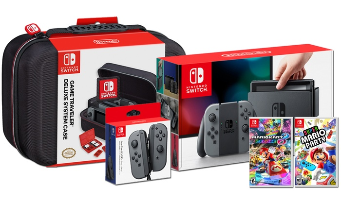 Up To 5 Off On Nintendo Switch Bundle Groupon Goods