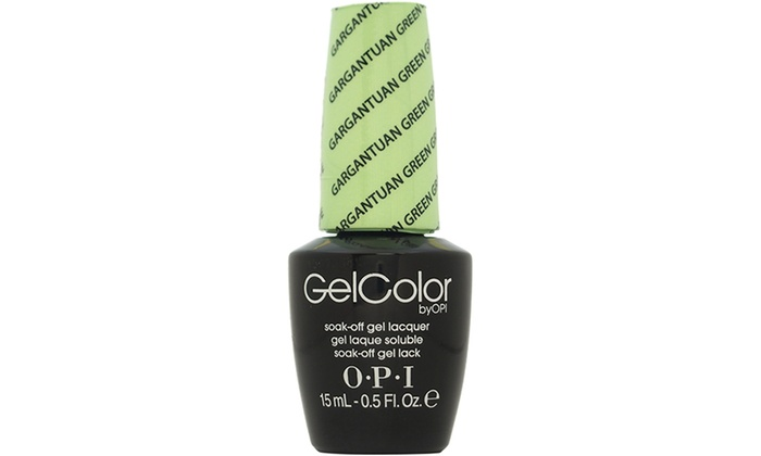 how to use opi gelcolor soak off