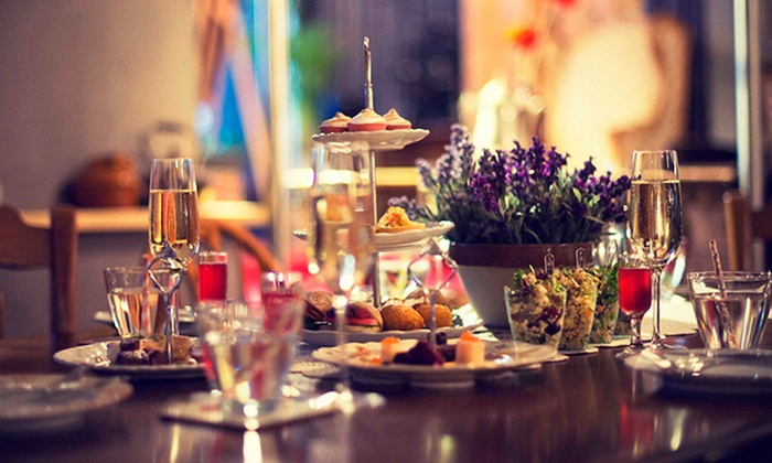 Food Society - Darlinghurst: Award-Winning High Tea for Two ($55) or add Vodka and Tea-Infused Cocktails ($85) at Food Society (Up to $120 Value)