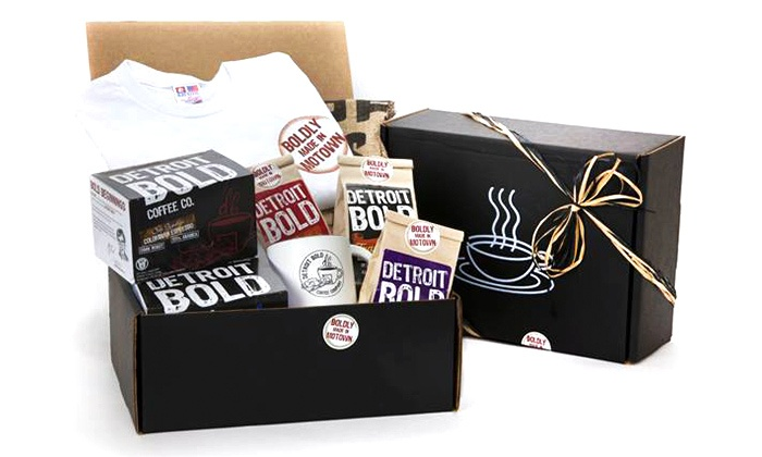 Detroit Bold Coffee Co.: 12-Packs of Keurig-Compatible Coffee Cups or 16-Ounce Bags of Coffee from Detroit Bold Coffee Co. (Up to 41% Off)