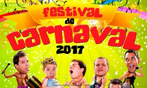 """Arco & Flecha Entretenimento: Festival de Carnaval com peças """"Viajantes do Tempo"""" ou """"Amor de Ahh a Zzz"""" – Teatro dos Bancários: 1 ingresso"""