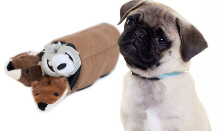 Interactive Roll-Up Log Pet Toy