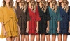 Robe à taches pour femmes