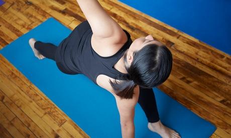 Bono de 8, 16 o 24 clases de yoga desde 26,90 € en Centro de yoga