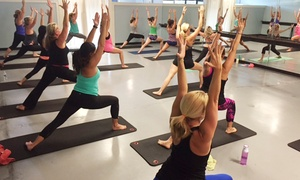 Studio 3 Fitness: Barre: $43 for 10 Buti Yoga Classes at Studio 3 Fitness ($130 Value)