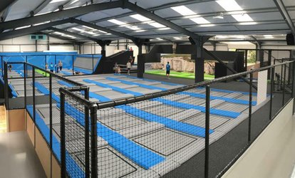 image for One-Hour Jumping Session for Up to Four at Activate Trampoline Park (Up to 35% Off)