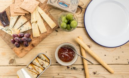 image for Charcuterie Platters for Two or Four with a Glass of Prosecco Each at Yield N16 (44% Off)