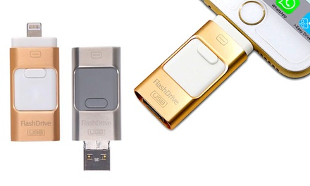 Memoria USB da 64GB per iPhone e iPod disponibile in 2 colori