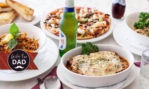 Charlie's Pizzeria and Restaurant: From $39 for a Two-Course Italian Meal with Drinks at Mairas Italian Restaurant (From $105 Value)
