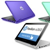 "HP Pavilion 11.6"" Convertible Touchscreen Laptop with Intel Processor"