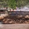 Przejazd wojskowymi pojazdami