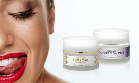 1 o 2 kits antiedad Efory Cosmetics con oro y polvo de diamante