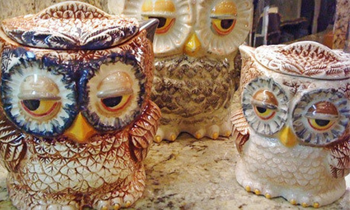 The Pottery Studio - Santa Rosa: $12 for $24 Worth of Pottery Painting at The Pottery Studio