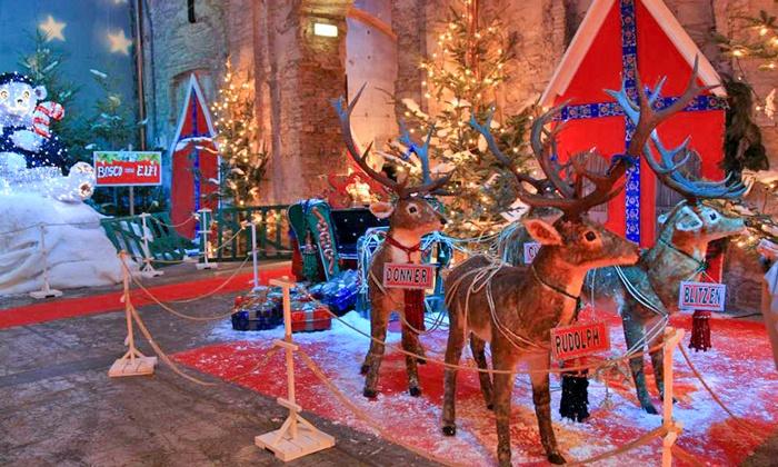 Montecatini Villaggio Babbo Natale.La Casa Di Babbo Natale A Montecatini Terme La Casa Di