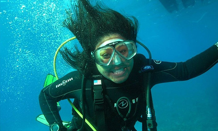 Oceanside Scuba and Swim Center - Brooks St.: Diving Class or Scuba Course with Certification and Equipment Rental at Oceanside Scuba and Swim Center (Up to 55% Off)