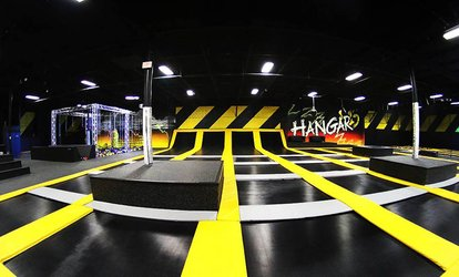 image for Two, Four, or Six 60-Minute Jump Passes or a Party for Up to 10 People at Hangar15 (Up to 51% Off)