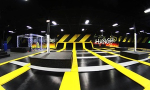 Up to 50% Off Jump Passes or a Party at Hangar15 at Hangar15 Extreme Air Sports, plus 6.0% Cash Back from Ebates.