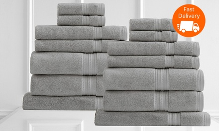 Egyptian Cotton Monarch 650GSM Towels: 7 $45 or 14 $85 Don't Pay up to $340