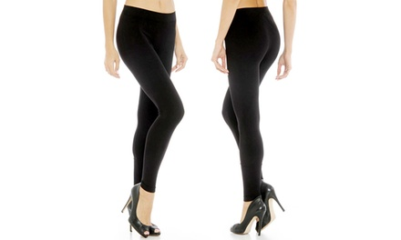 2-Pack or 4-Pack of Women's Fleece-Lined Leggings