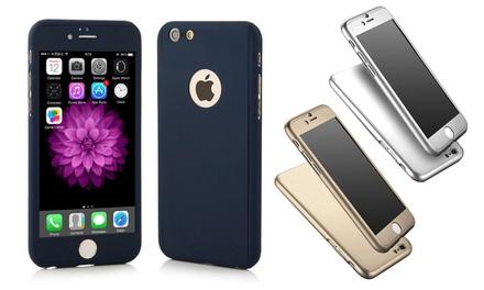 1 o 2 fundas protectoras 360º para iPhone 6/6S/6+ disponibles en varios colores desde 4,99 € (hasta 70% de descuento)