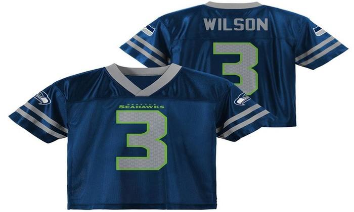 new product ad920 209b1 Russell Wilson Youth Jersey | Groupon Goods