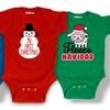 Holiday Fun Infant Bodysuits